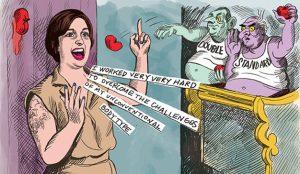 HBO moderniza viejos carteles sufragistas para recordar que la lucha feminista continúa