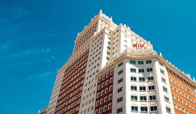 hotel riu plaza espana