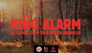 Burger King quemará sus anuncios cada vez que haya un incendio forestal en España