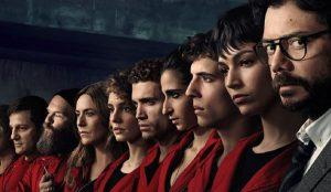 La casa de papel roba 34 millones de espectadores y el corazón del público internacional de Netflix