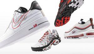 Nike revive antiguas versiones de su logo para celebrar el legado del célebre Swoosh