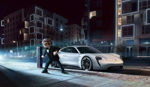 El Porsche Mission E salta a la gran pantalla con