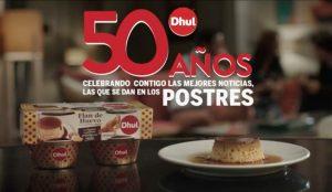 Dhul cumple 50 años celebrando las buenas noticias, las que se dan en el postre
