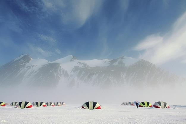 Antártida-Airbnb