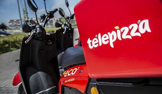 Flota Motos eléctricas Telepizza 02
