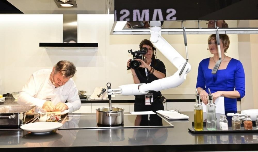 robot cocina samsung
