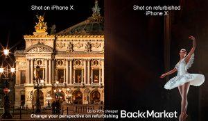 Una compañía francesa copia una famosa campaña Apple para vender sus productos reacondicionados
