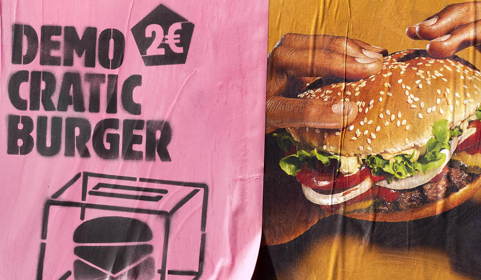 burger king hamburguesa democrática