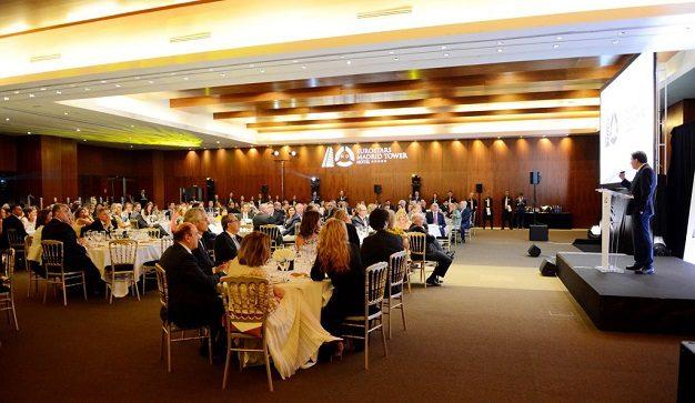 El Eurostars Madrid Tower 5* conmemora su X aniversario con una cena de gala