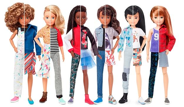 muñecas género inclusivo