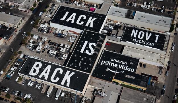 La serie de Amazon Jack Ryan cubre los tejados de Los Ángeles con su última promo