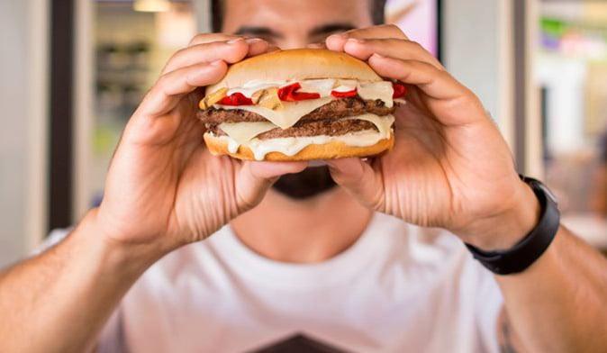 la master burger king