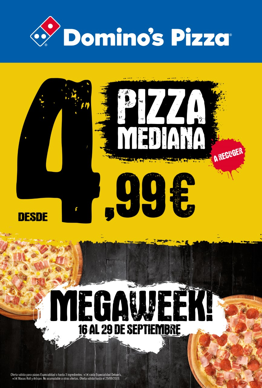 promoción domino's pizza