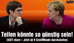 Sixt echa en cara a Angela Merkel su cinismo en materia medioambiental en este anuncio