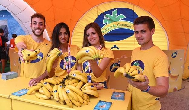 stand plátano de canarias