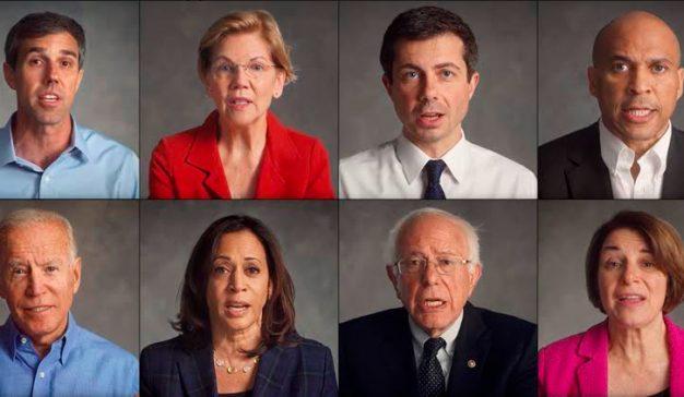 Los candidatos demócratas lanzan una campaña para combatir la violencia de las armas en las escuelas