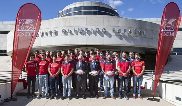 Generali Seguros amplía su acuerdo de patrocinio con las Selecciones Españolas de Rugby XV y Rugby 7