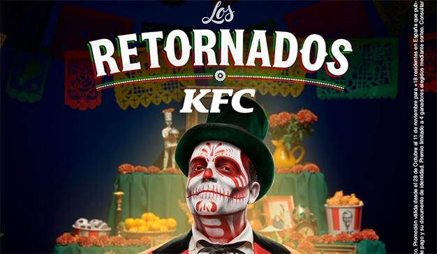 KFC muertos campaña
