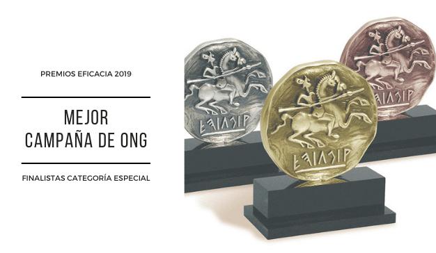 Premios Eficacia 2019 - Mejor Campaña ONG