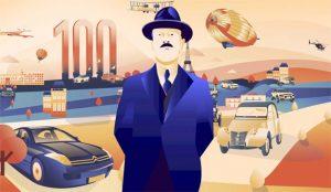 Citroën celebra su centenario con hermosas ilustraciones de todos y cada uno de sus 100 años