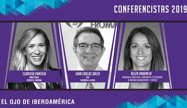 Referentes de Corona, Savencia y Disney son los nuevos conferencistas presentados por El Ojo de Iberoamérica