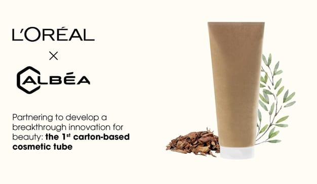 L'Oréal se pone la sostenibilidad por montera con un tubo para cremas hecho de cartón