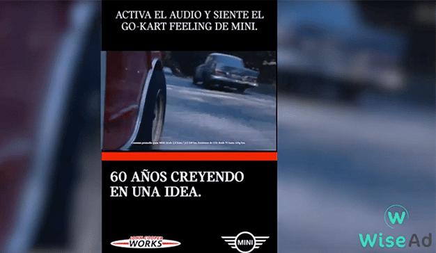 Una campaña de MINI, al más puro estilo ASMR, le permite sentir la fuerza del motor de sus primeros coches