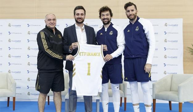 ETFinance, nuevo patrocinador del Real Madrid de Baloncesto