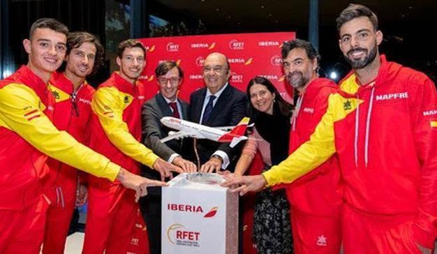Iberia, patrocinador oficial de la Real Federación Española de Tenis