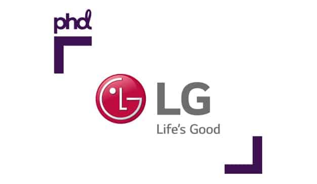 LG confía su cuenta de medios a PHD