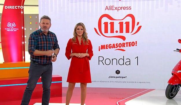 AliExpress bate el récord mundial de ventas en el Día Mundial del Shopping en Atresmedia