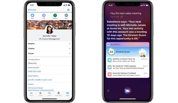Apple y Salesforce presentan dos aplicaciones móviles enfocadas a la productividad y la formación