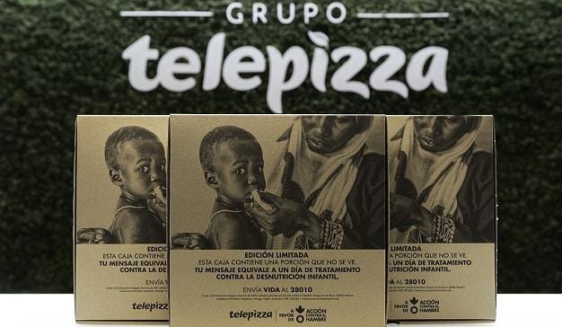 Telepizza colabora con Acción contra el Hambre en un proyecto contra la desnutrición infantil
