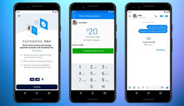 Facebook vuelve a sorprender y lanza Facebook Pay, su pasarela de pagos
