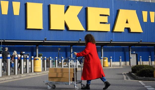 El logo de IKEA se hace un ingenioso lavado de cara