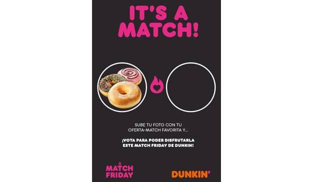 it is a match