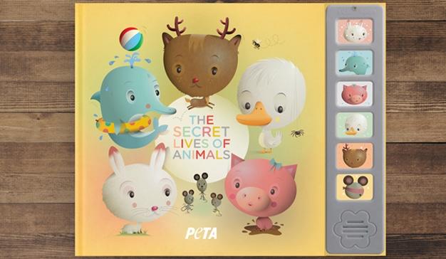 Los tiernos animalitos de esta campaña de PETA son una