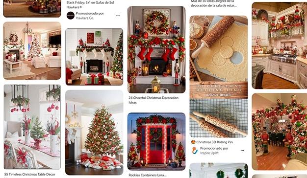 Pinterest Navidad