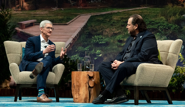 Tim Cook saca a relucir los valores de Apple en Dreamforce 2019