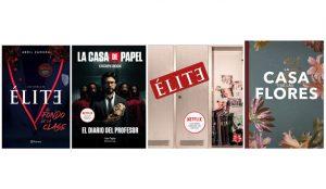 Netflix se mete en el mundo editorial y publica 4 libros basados en sus series