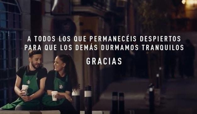Starbucks realiza una acción de Street Marketing dirigida a los trabajadores nocturnos