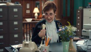 Annie Potts vuelve a su papel de secretaria de los Cazafantasmas en este nuevo spot