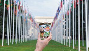 Ben & Jerry's lanza su nuevo sabor Cone Together con el que lucha a favor de los refugiados
