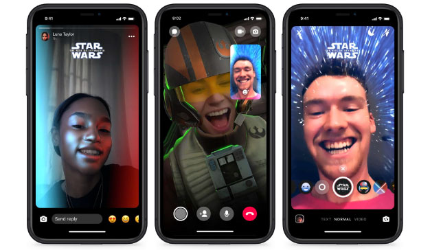 Facebook Messenger Star Wars