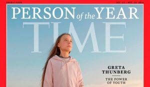 Greta Thunberg, persona del año según la revista Time