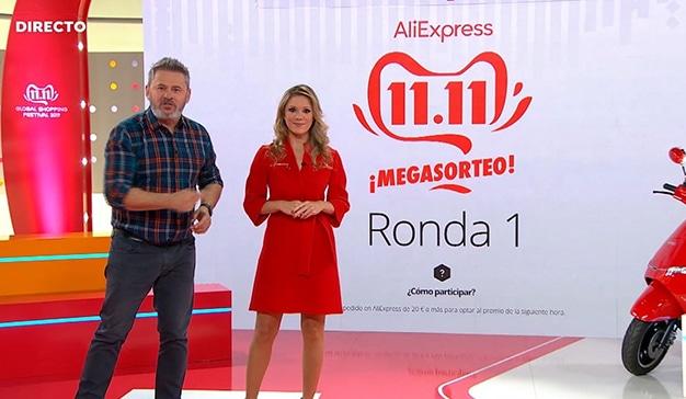 AliExpress y Atresmedia se unen en el Día Mundial del Shopping con una acción multimedia sin precedentes