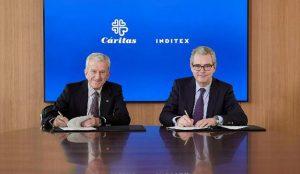 Inditex renueva sus acuerdos con Cáritas para seguir colaborando en sus proyectos sociales