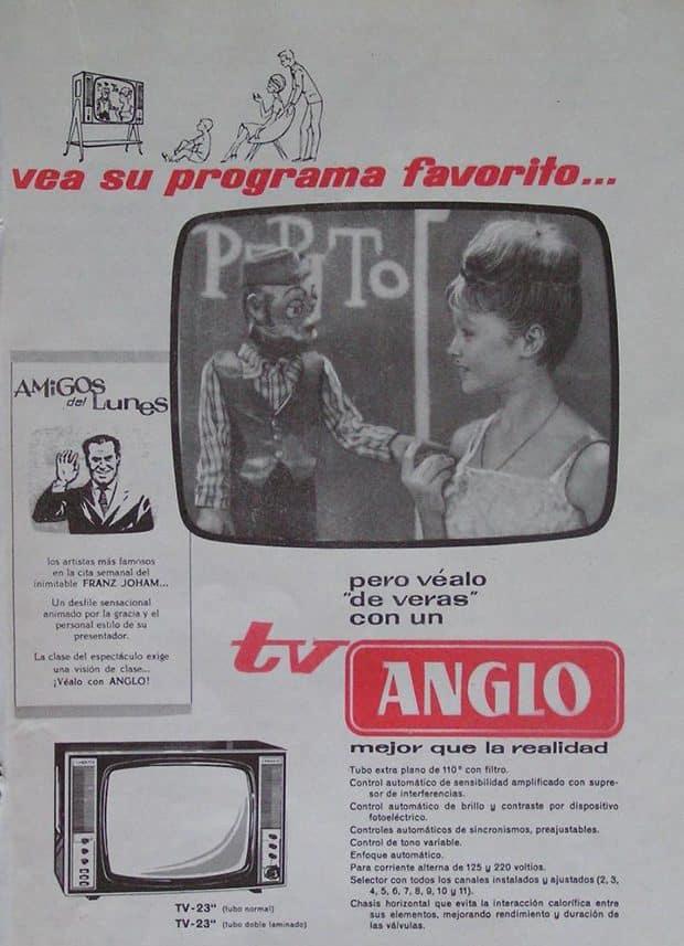 Marisol publicidad