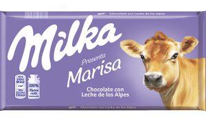 Milka jubila (de momento) a su famosa vaca lila y pone en su lugar a varias vacas alpinas
