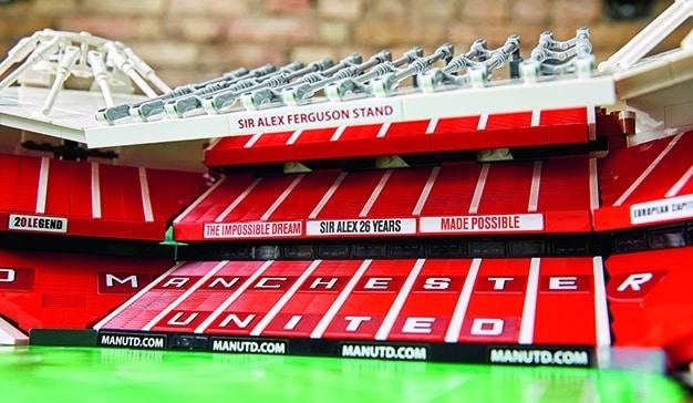 El estadio del Manchester United cumple 110 años y LEGO lo celebra con un set dedicado a todos sus fans